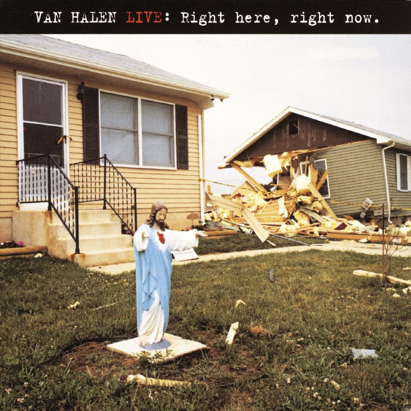 Van halen live right here right now album cd compact for House music 1993